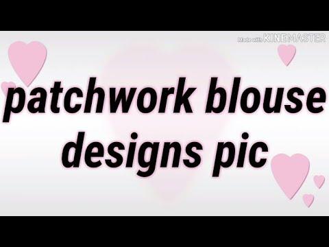Patchwork blouse designs pic | new blouse design images #ashwinidhonesangamner