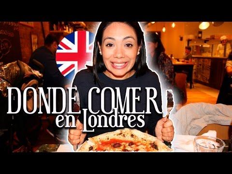 Donde comer en Londres barato / Mexicana en Londres