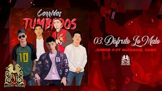 03. Junior H - Disfruto Lo Malo ft. Natanael Cano [Official Audio]