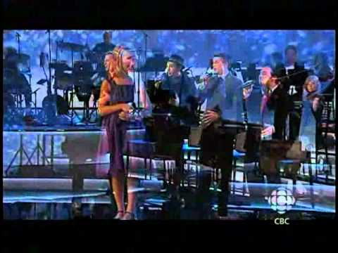 Jackie Evancho - Canadian Tenors & Friends (Season of Song special on CBC 13-Dec-2010).avi