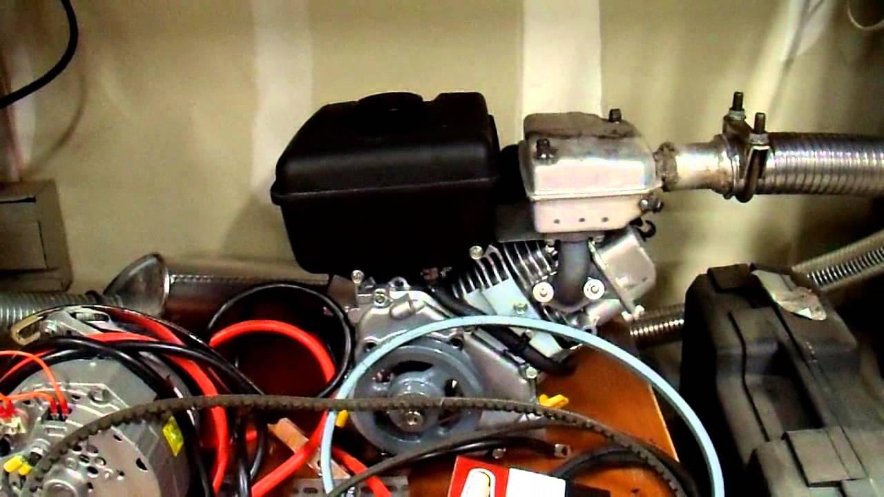 Diy 12v Generator Charger 9 Safely Venting Exhaust Gasses Carbon Monoxide Youtube