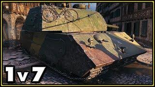 VK 168.01 (P) - 1 vs 7 - World of Tanks Gameplay