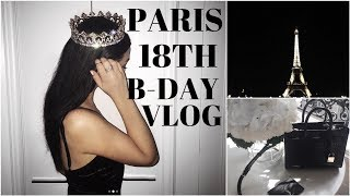 PARIS 18TH B-DAY VLOG! | Meeting fans, shopping, and hella food