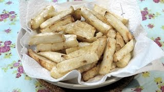 Roasted Celeriac Chips Recipe