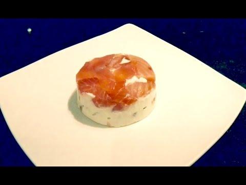 Bavarois asperges et saumon au thermomix