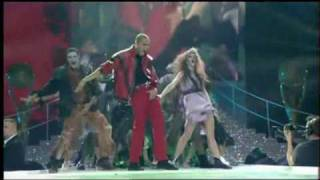 Chris Brown Thriller Tribute To Michael Jackson 12.10.06 World Music Awards 2006