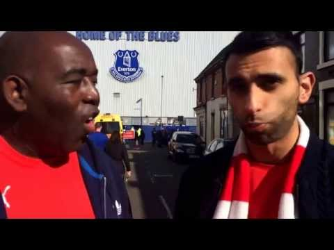 Arsenal Team Line Up Live from Goodison Park