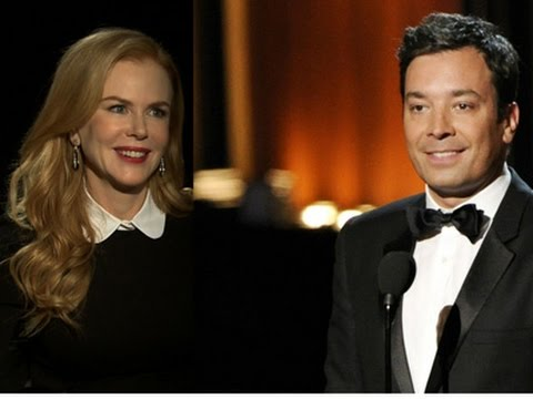 Nicole Kidman on Jimmy Fallon: 'It Was Awkward'