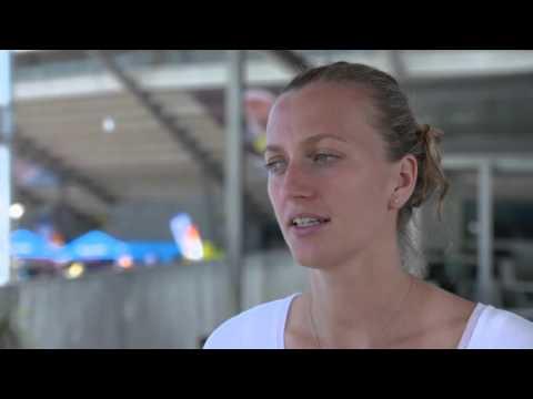 Petra Kvitova | 2016 Apia International Sydney Pre-Tournament Interview