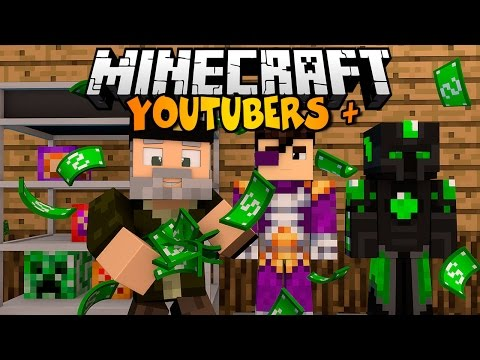Minecraft: YOUTUBERS MASCOTA!   YOUTUBERS+ Mod Review