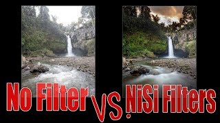 Waterfall photography with the NiSi V6 Landscape Filters