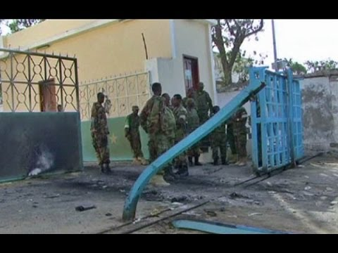 Al Shabaab attacks presidential palace in Somalia