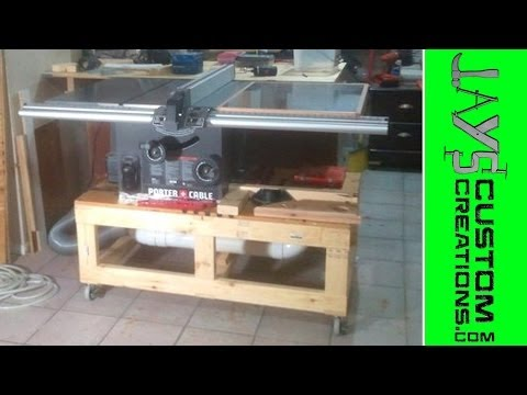 Building a Table Saw Base Video 2 - 076