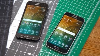 Galaxy S6 Active vs Galaxy S6: More Than Just A Little Rubber