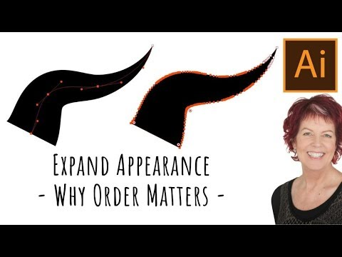 Illustrator - Expand Appearance Order Matters