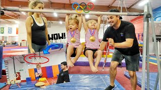 TWO YEAR OLD OLYMPIC BABY GYMNASTS *First Class*