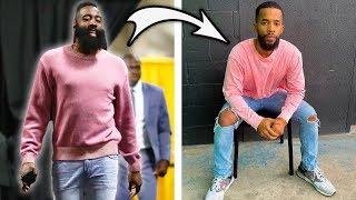 Regular People Dress Like NBA Players For A Week