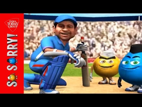 So Sorry: Sachin's Way Of Playing Cricket video
