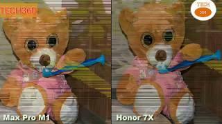 ASUS Zenfone Max Pro M1 VS Honor 7X Camera Review