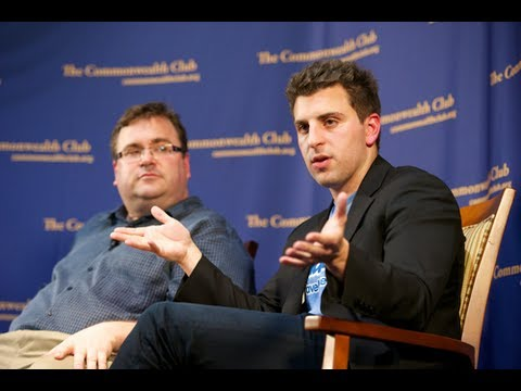 Reid Hoffman and Brian Chesky (11/2/11)