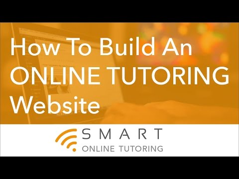 How To Build An Online Tutoring Website