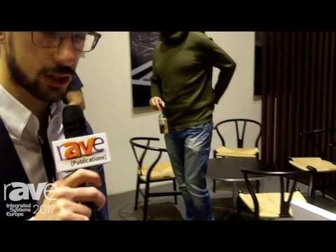 ISE 2017: Arthur Holm Displays DynamicTalkRevoluto Microphone Lift