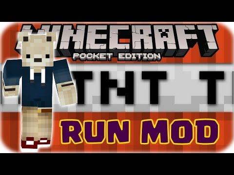Minecraft PE: TNT RUN MOD + MAP | 0.10.5