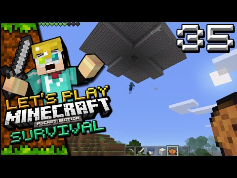 Minecraft: Pocket Edition Survival - Episode 35 - Mob Grinder