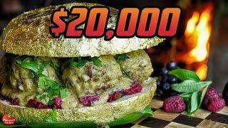 PEWDIEPIE'S GOLDEN BURGER! - $20,000 REAL 24K GOLD!