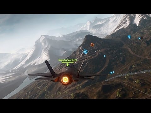 BF4 China Rising - Altai Range Gameplay (Chinese Bomber. GOL Magnum Sniper and Epic SUAV Kill!)