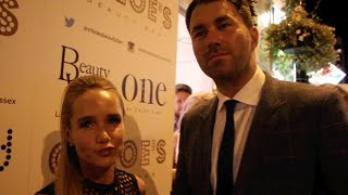 MR & MRS ... EDDIE HEARN & CHLOE HEARN TALK BUSINESS, BOXING & THEIR RELATIONSHIP (IFL TV EXCLUSIVE)