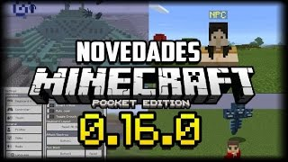 Minecraft PE 0.16.0 Mob Secreto NPC - Primeras Impresiones y el Wither? - Gameplay - Descarga APK