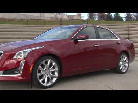 2014 Cadillac CTS - TestDriveNow.com Review by auto critic Steve Hammes