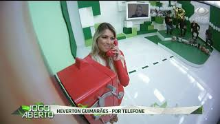 Héverton Guimarães liga para parabenizar Renata Fan