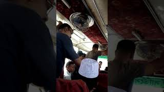Fight between women and guy for ladies sit!!