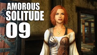 Amorous SOLITUDE 09 - I gave my love a chicken that had no bones (Skyrim cinematic gameplay)