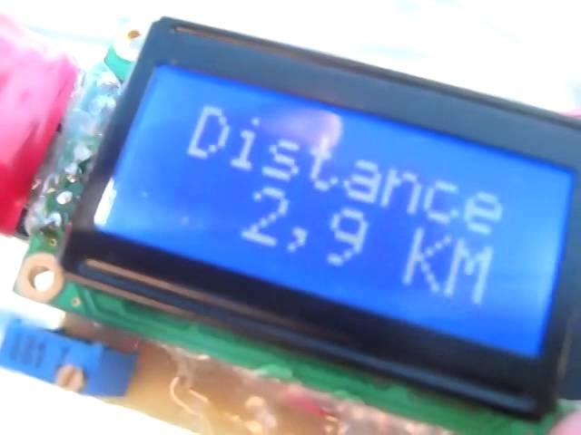 Digital speedometer with an arduino Hackaday