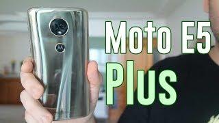 Bateria grande, visual sofisticado... E o resto? Review do Moto E5 Plus