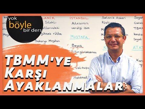 TC İnkılap Tarihi ve Atatürkçülük - TBMM'ye Karşı Ayaklanmalar 12