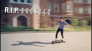 OVERPOWERED 28 MPH SKATEBOARD
