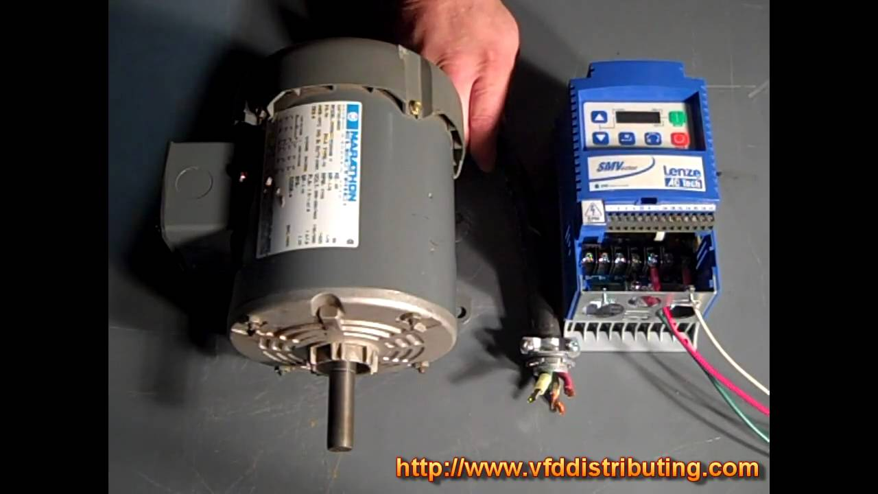 Ac tech smvector series what is a variable frequency for Variable frequency drive motor
