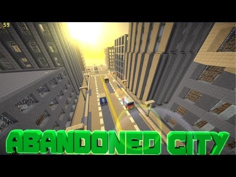 Minecraft PE Custom Map Abandoned City [DOWNLOAD]