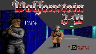 Wolfenstein 3D (DOS) Episode 5: Trail Of The Madman - Floor 4