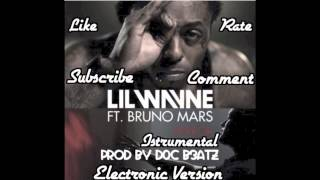 Mirror - Lil Wayne feat. Bruno Mars (Electronic Version) (Remake) (Prod By. D0C B3ATZ)