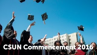CSUN Commencement 2016: Nazarian College of Business and Economics
