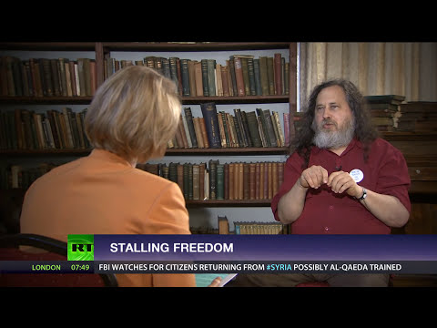 Stallman: If we don't fight surveillance, we lose our democracy