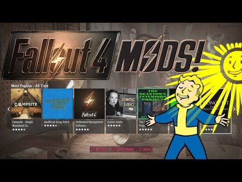 FALLOUT 4 Bethesda Net Modding Preview/Impressions - What You Need To Know About Modding Your Game!
