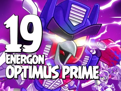 Angry Birds Transformers - Gameplay Walkthrough Part 19 - Energon Optimus Prime Unlocked!