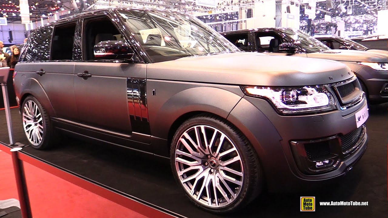 2015 Range Rover - Project Kahn RS650 - Exterior and ...