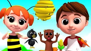 Nursery Rhymes For Kids and Children | Kindergarten Songs Collection